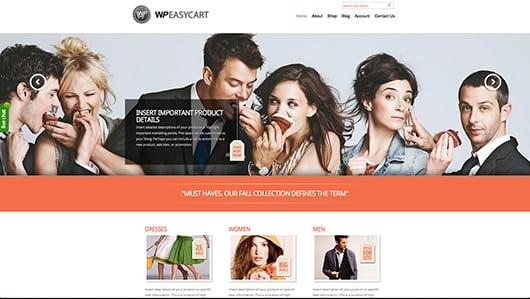 WP EasyCart Phoenix Demo