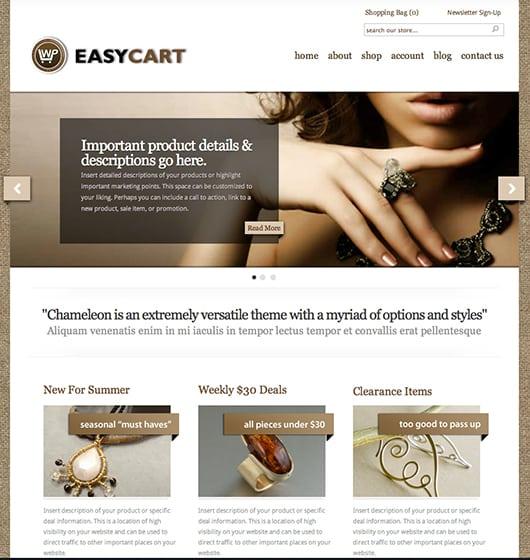 Chameleon WP EasyCart