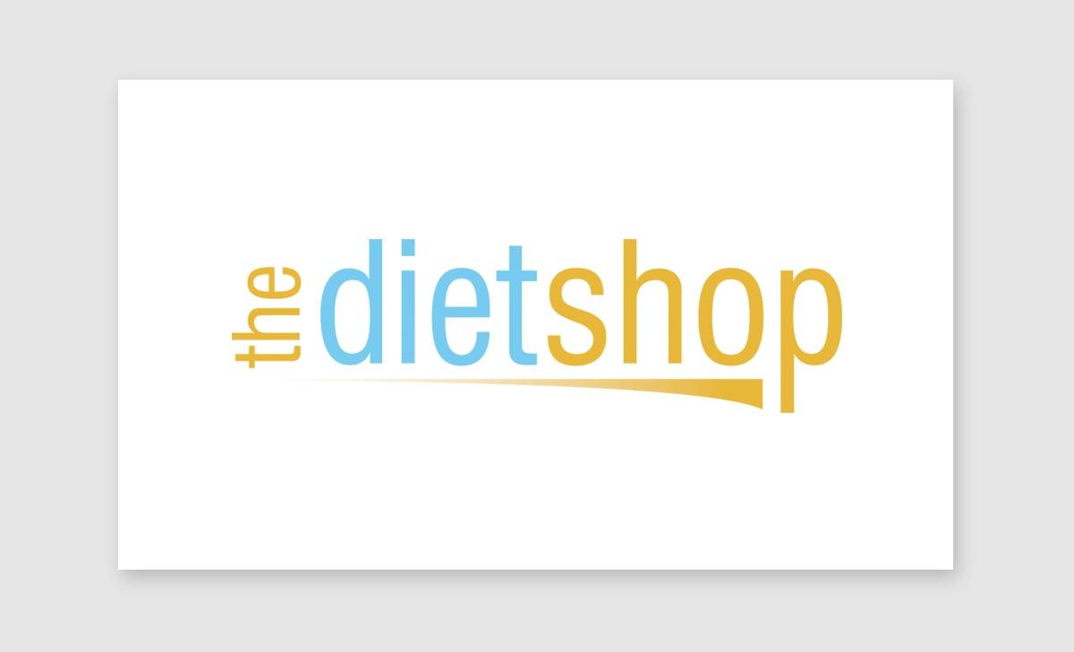 The Diet Shop Logo - SA Designs Unltd.