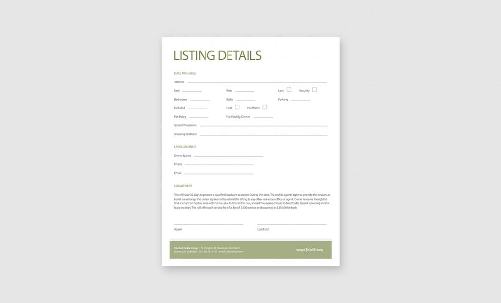 Trio Real Estate Listings Package 2